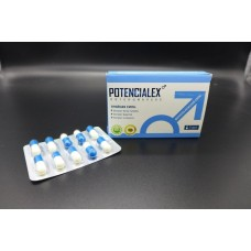 Капсулы для мужчин Potencialex, усиливающие потенцию